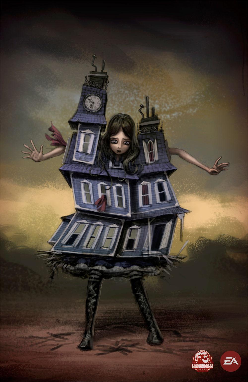 Arte Alice Madness Returns Producaograficadesign